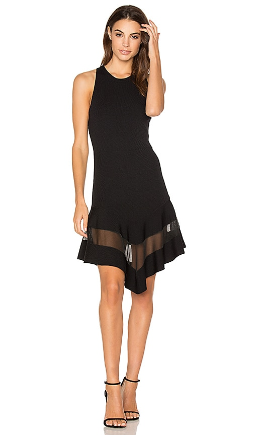 Ronny Kobo Ilaria Dress in Black
