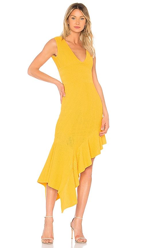 Ronny Kobo Jennifer Dress in Mustard
