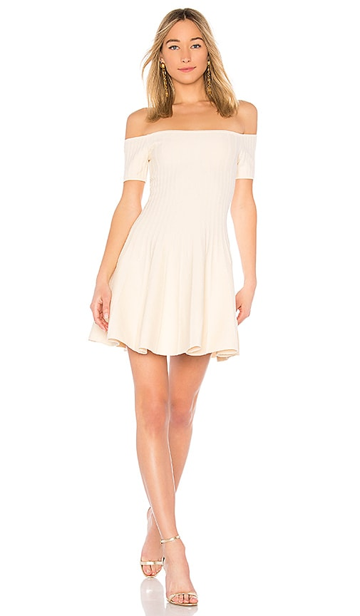 Ronny Karin Dress in Ivory