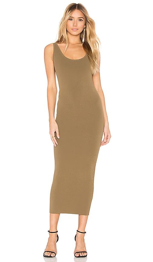 Ronny Kobo Zora Dress in Olive