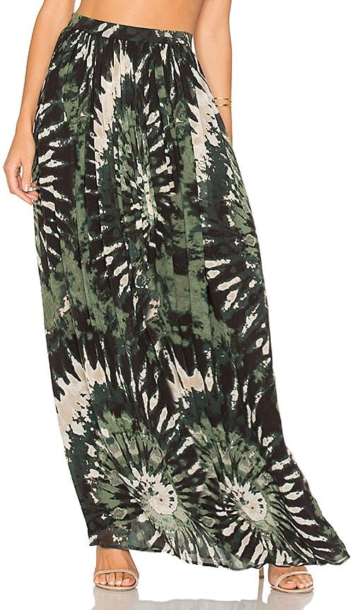 Ronny Kobo Raquelle Skirt in Green
