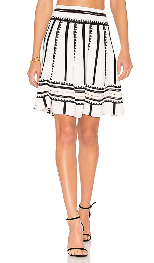 Ronny Kobo Chaya Skirt in White