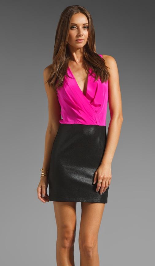 Jet Color Block Dress