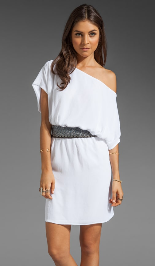 Harvey Beaded Belt Dress