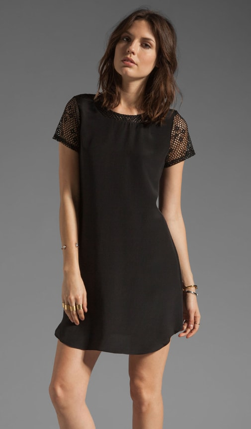 Domaine Perforated Tee Dress