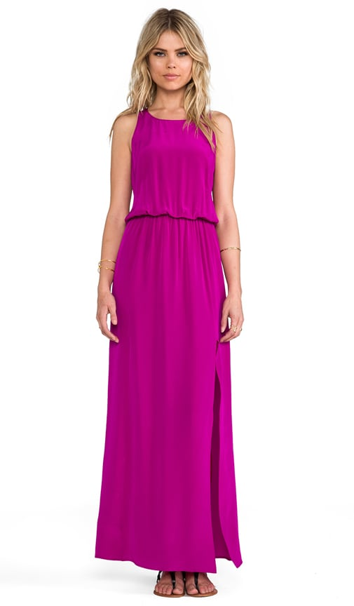 Flores Racer Back Maxi Dress