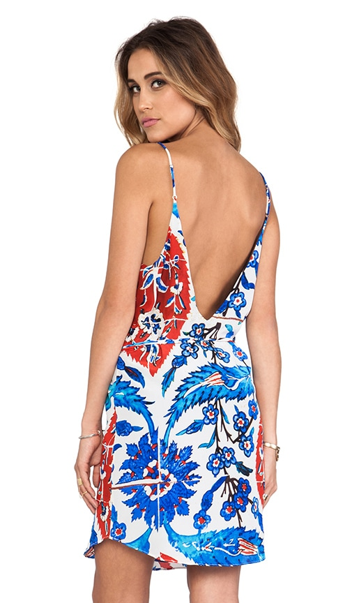 Kaya Deep V Back Dress