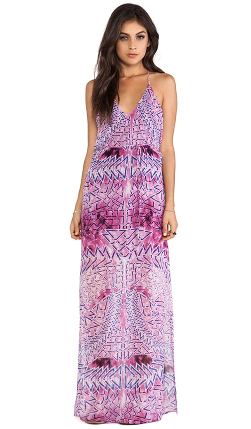 Theda T Back Maxi Dress