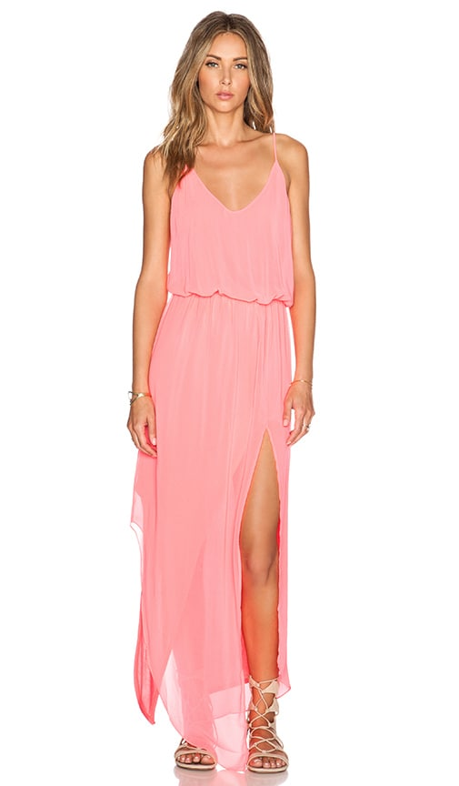 Rory Beca Nikee Maxi Dress in Pout