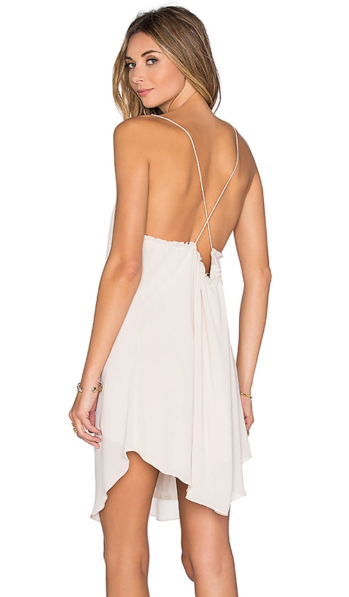 Rory Beca Tambourine Dress in Beige