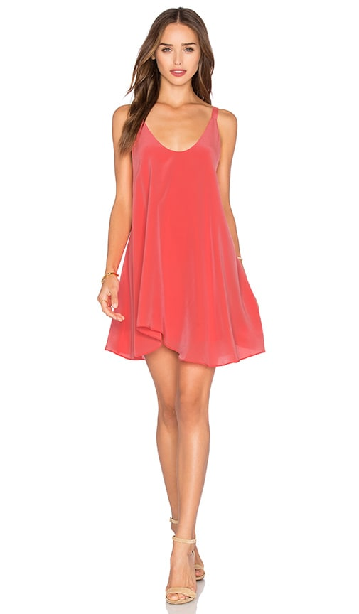Rory Beca Harira Dress in Coral