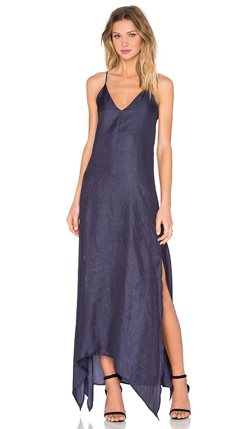 Rory Beca Ever Maxi Dress in Navy