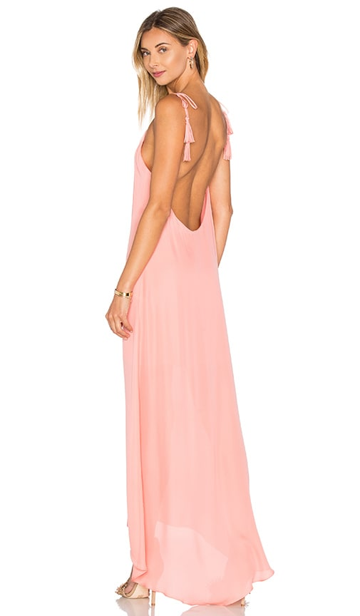 Outlet How Much Footlocker Pictures Cheap Online MAID By Yifat Oren Nelli Gown in Coral Rory Beca ToV5K