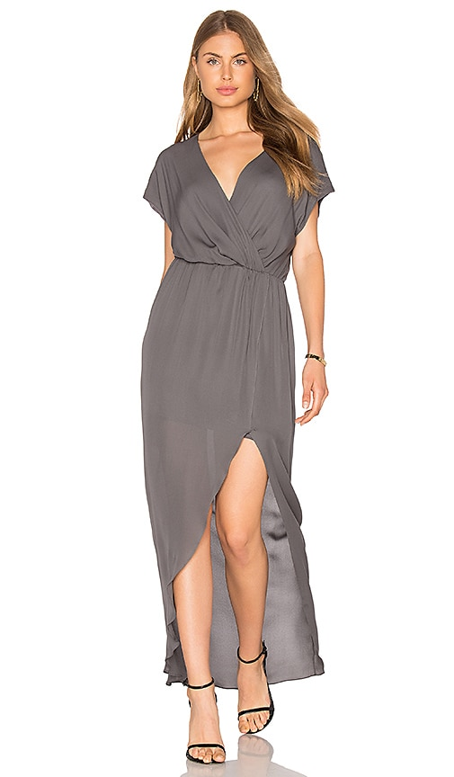 Rory Beca MAID by Rory Beca Plaza Gown in Charcoal