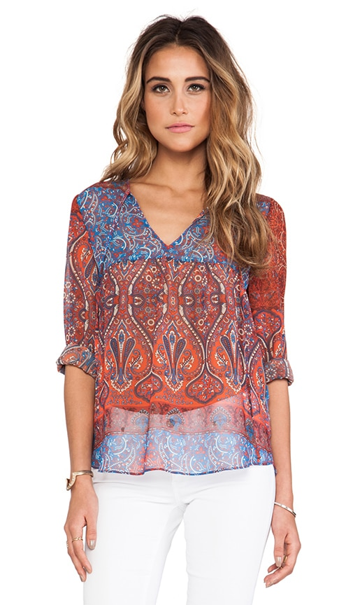 Augie Babydoll Blouse