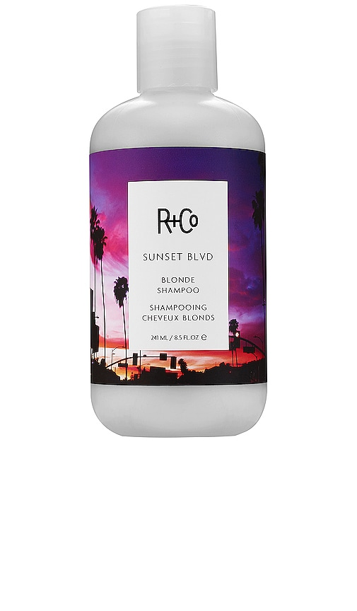 SHAMPOING CHEVEUX BLONDS SUNSET BLVD