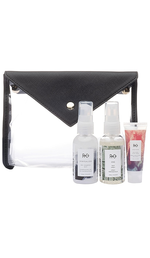 x R+Co x Hudson + Bleecker Travel Essentials Kit