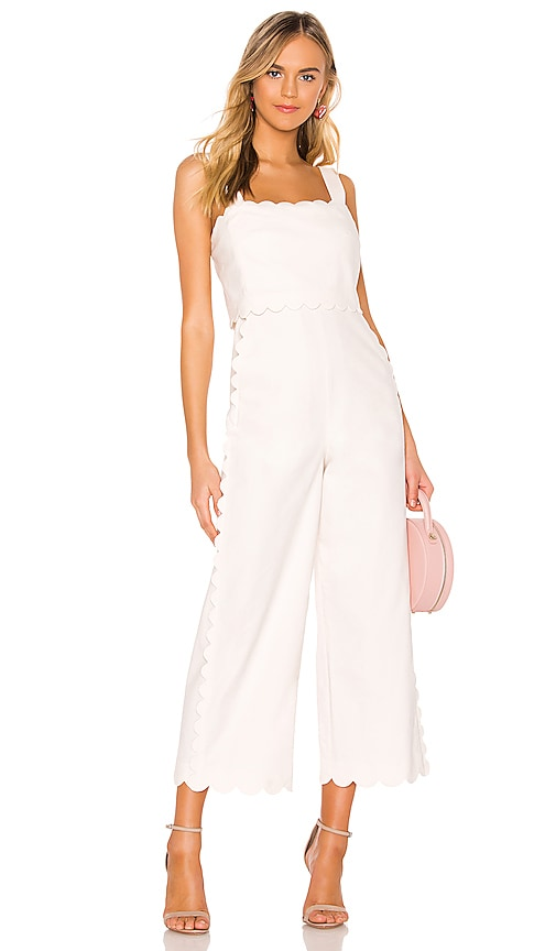 Scallop Jumpsuit by Rebecca Taylor