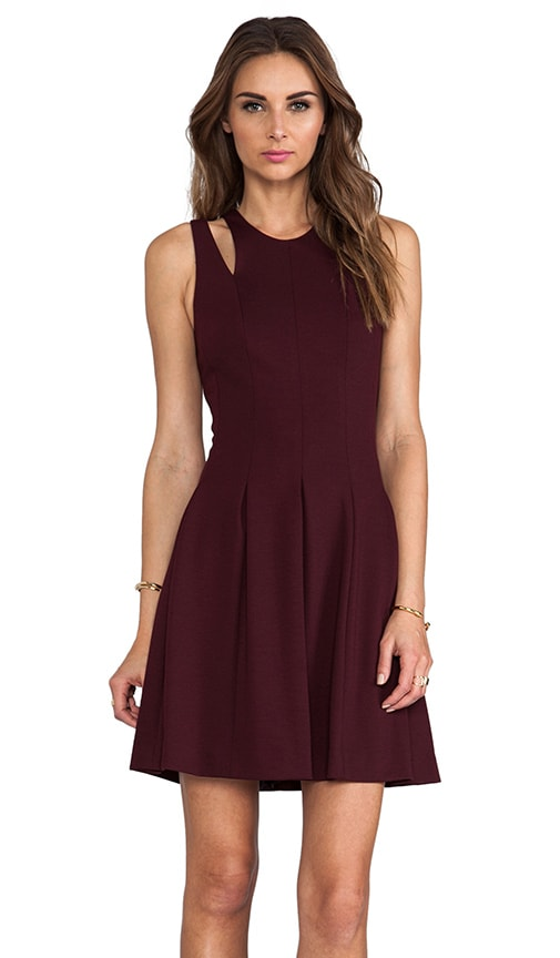 RUNWAY Ponte Cut Out Dress