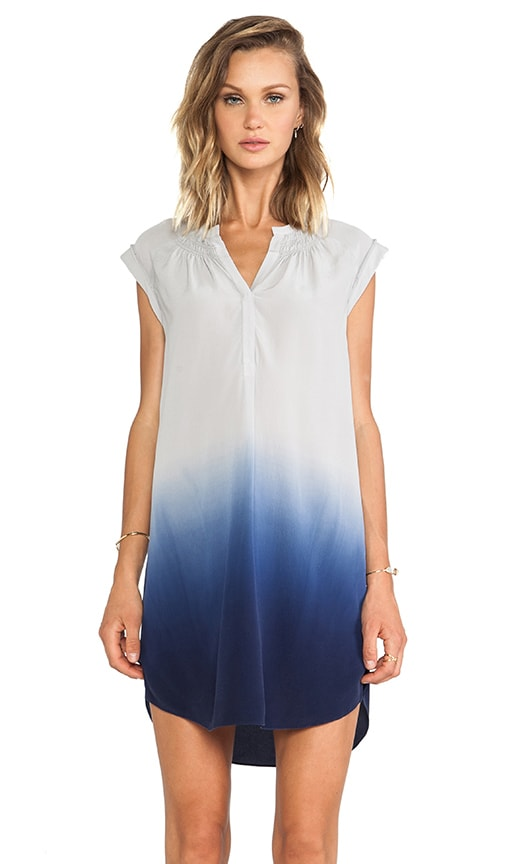 Dip Dye Silk Ombre Dress