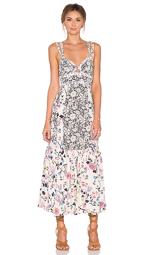 Sleeveless Tapestry Garden Dress