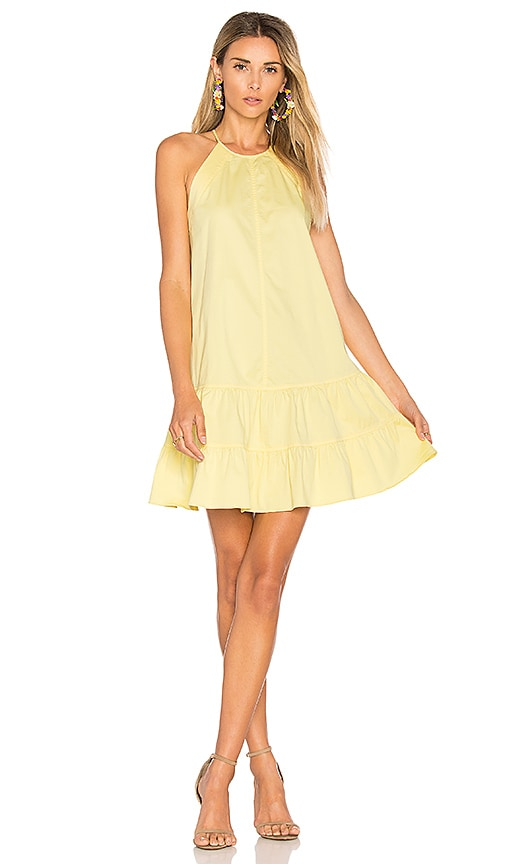 Rebecca Taylor Tank Dress in Yellow