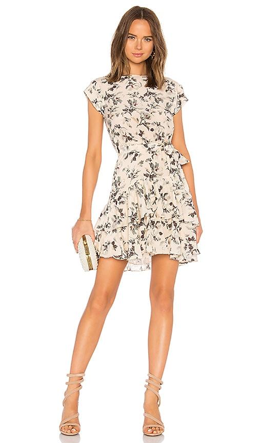 4938558a6e7 Rebecca Taylor Sofia Silk Dress in Vanilla Combo   REVOLVE