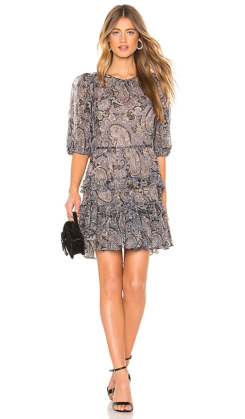 Selene Paisley Dress