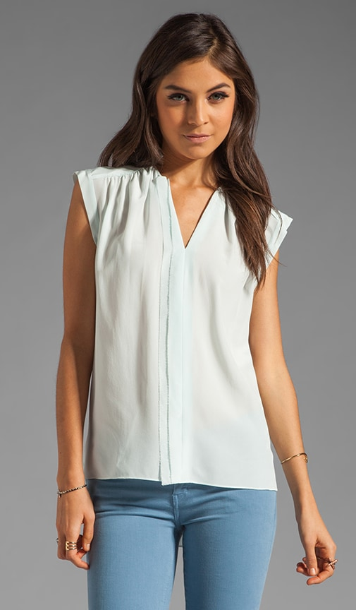 Sleeveless Henley