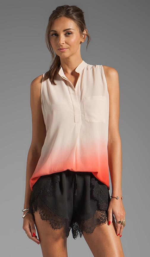 Ombre Sleeveless Blouse