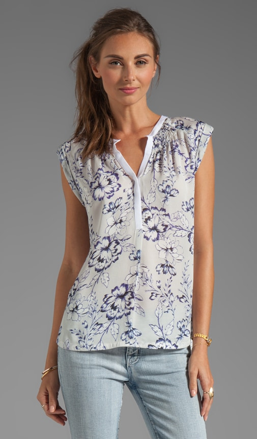 Zen Flower Sleeveless Blouse