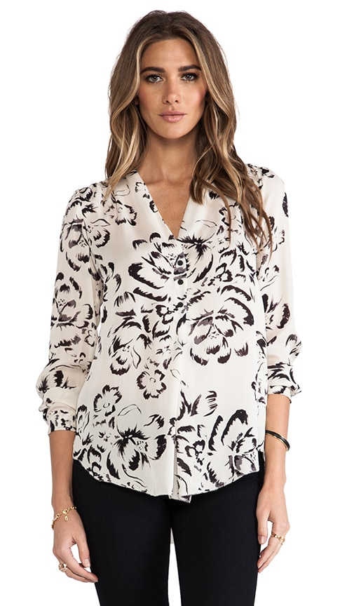 Artisanal Flower Blouse