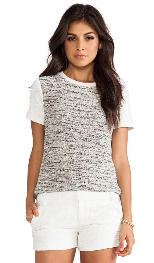Sparkle Tweed Top