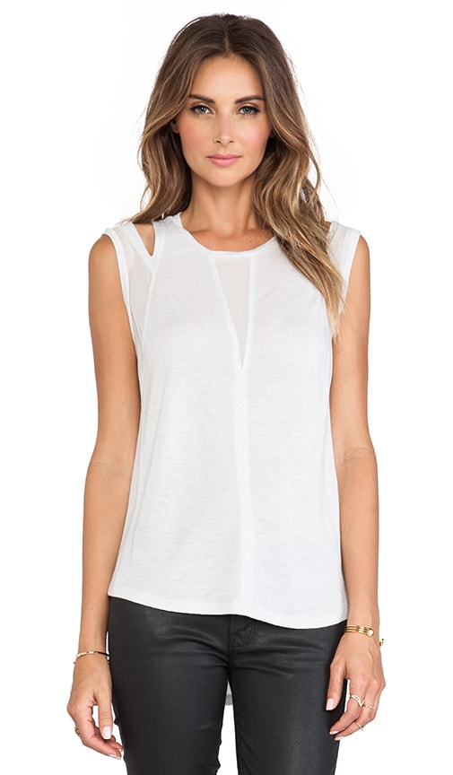 Shoulder Cut Out Tank