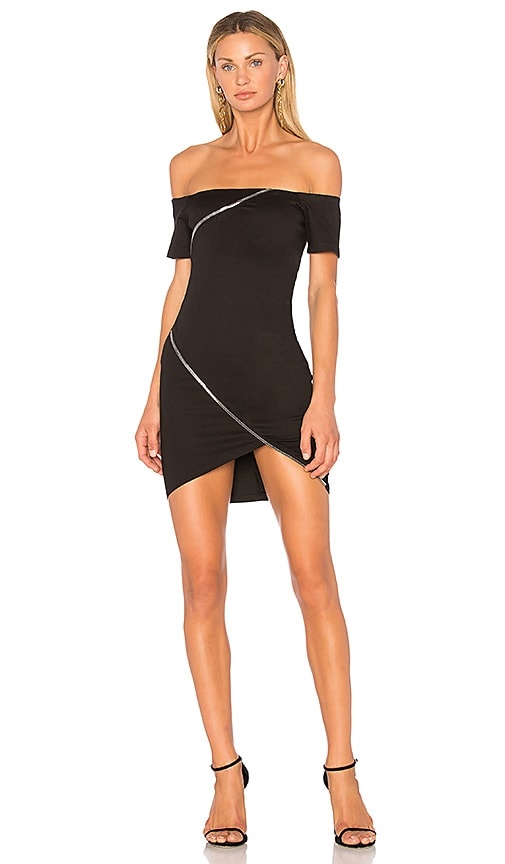 RtA Lilou Dress in Black