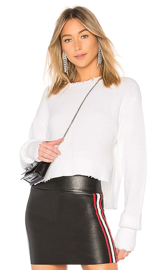 RtA August Sweater in White