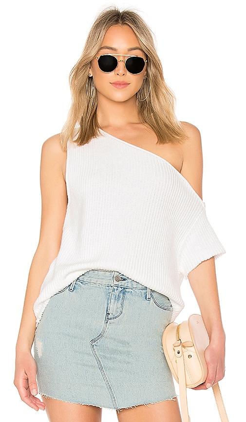 RtA Sloane Sweater in White
