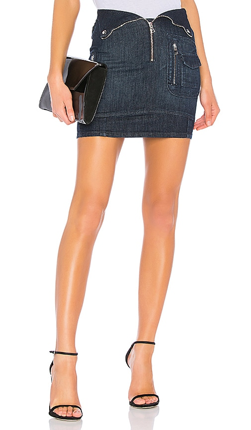 RtA Gisele Skirt in Superior Blue