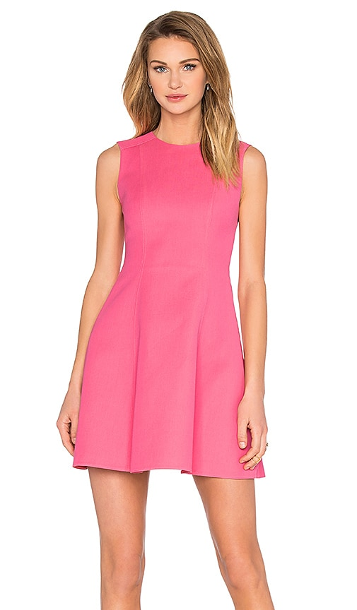 Red Valentino Fit and Flare Dress in Pink