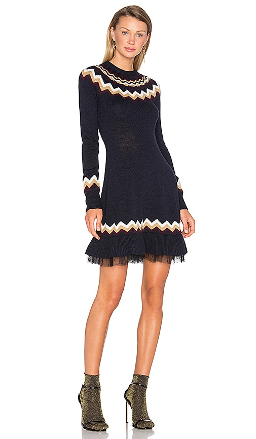 2285d5711e Fit & Flare Sweater Dress. Fit & Flare Sweater Dress. Red Valentino