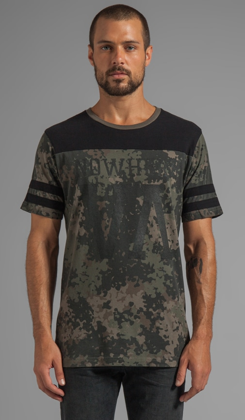 Nowhere Jersey Graphic Tee