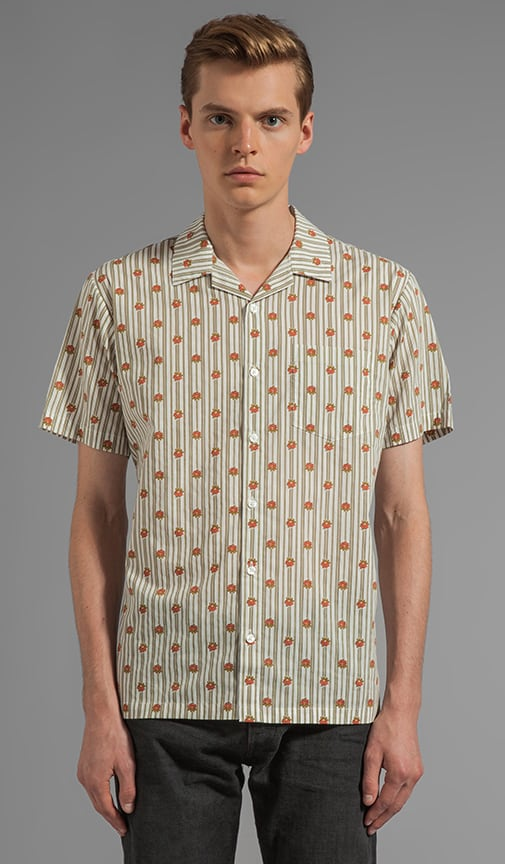 X Alex Knost Signature Collection Wallpaper S/S Button Down