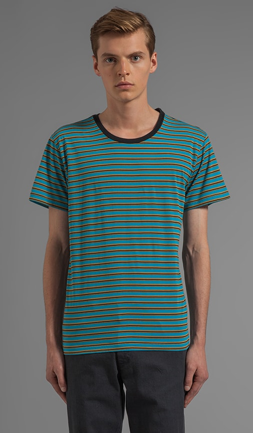 X Alex Knost Signature Collection Smile S/S Stripe Tee