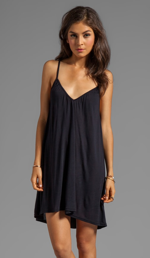 Komchen Jersey Sleeveless Spaghetti Strap Dress