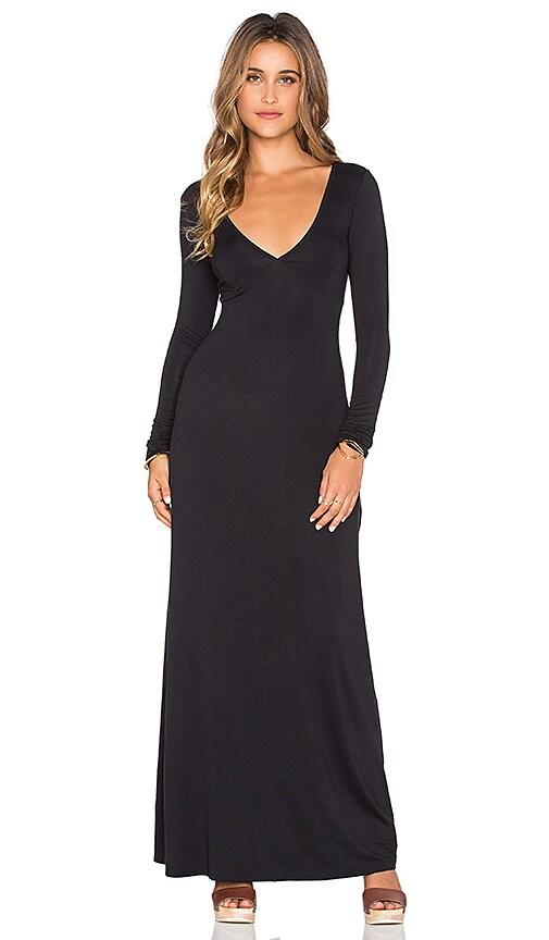 RVCA Leelou Maxi Dress in Black
