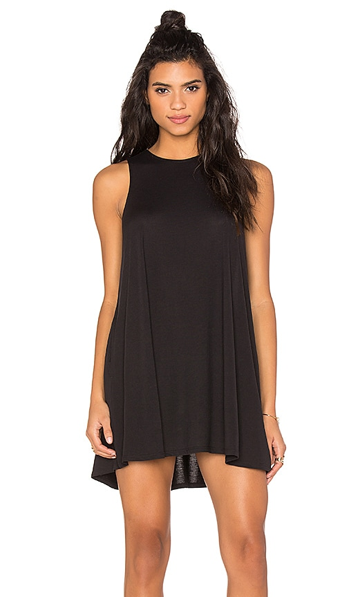 RVCA Sucker Punch 2 Tank Dress in Black