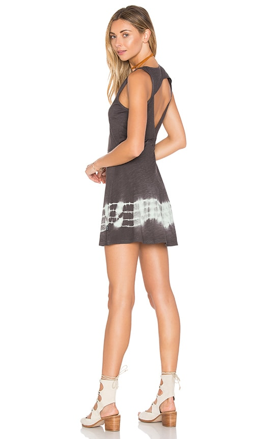 RVCA Shandon Dress in Charcoal