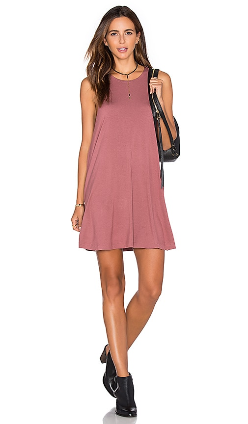 RVCA Sucker Punch 2 Dress in Rose