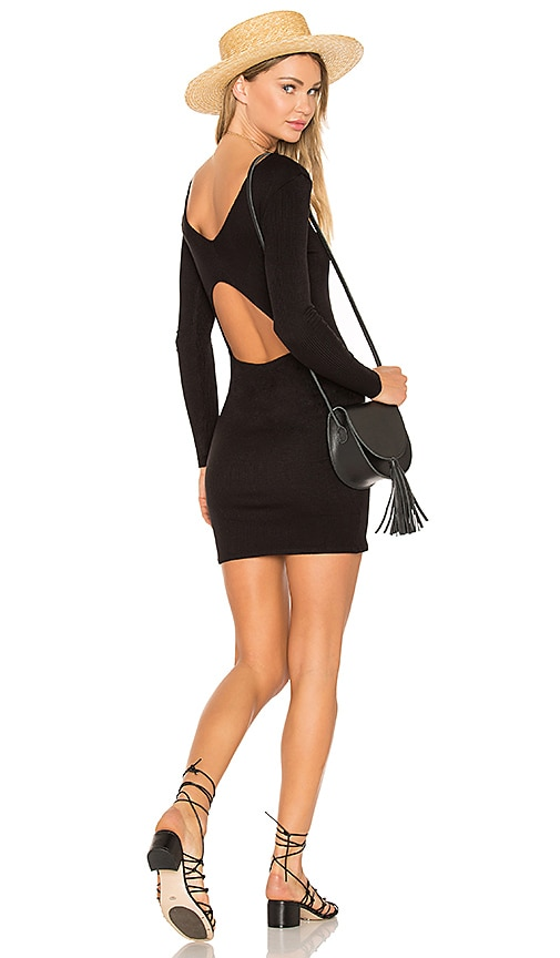 RVCA Fallen Dress in Black