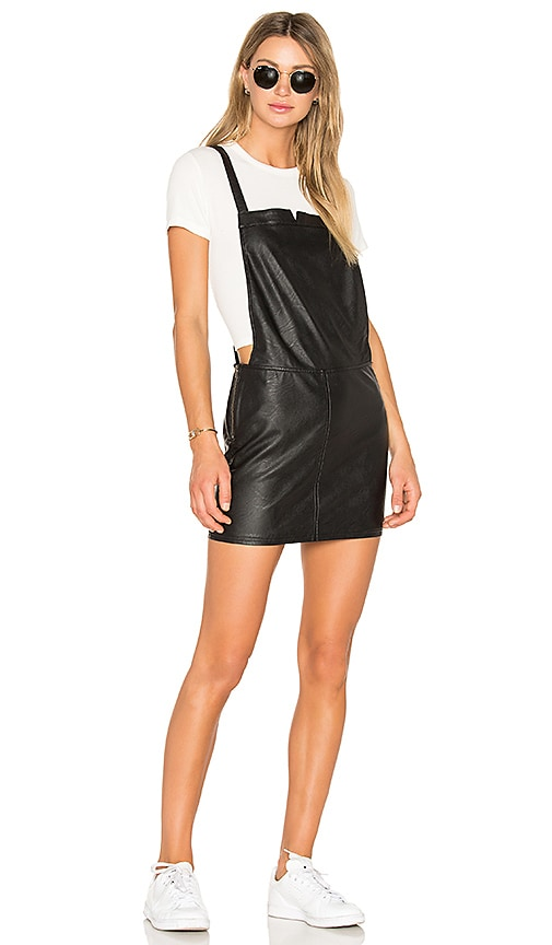 RVCA Apologies Skirt Dress in Black